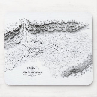Battle of the Great Meadows, July 3rd 1754 Mouse Pad