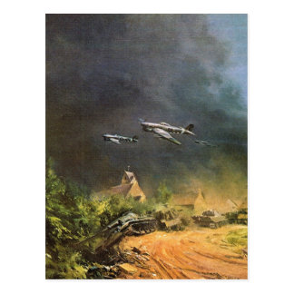 Battle of the liberation of France Postcards