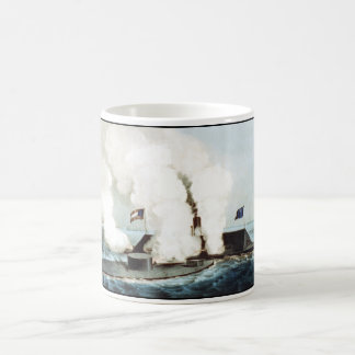 Battle of the Monitor and Merrimack Classic White Coffee Mug