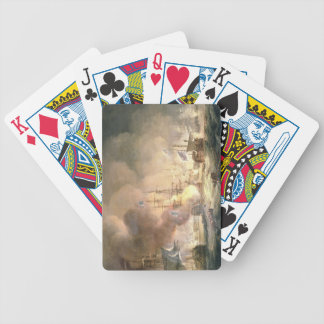 Battle of the Nile, 1st August 1798 at 10pm, 1834 Poker Deck