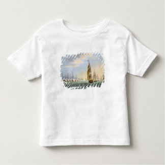 Battle of the Nile, August 1st 1798, engraved by T Toddler T-shirt