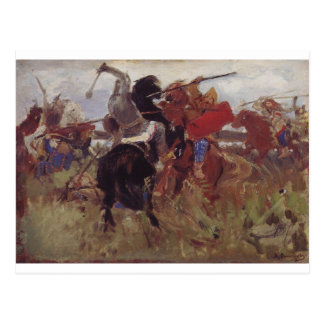Battle of the Scythians with the Slavs Viktor Postcard