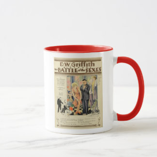 Battle of the Sexes 1928 vintage movie poster mug