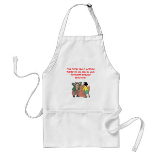 battle of the sexes adult apron