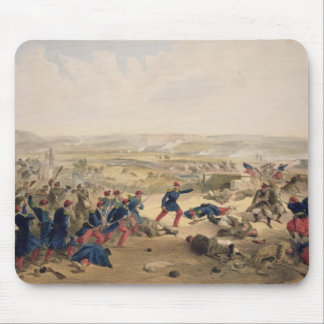Battle of the Tchernaya, August 16th 1855, plate f Mouse Pad