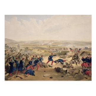 Battle of the Tchernaya, August 16th 1855, plate f Postcard