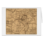 Battle of the Wilderness - Civil War Panoramic 2 Greeting Cards
