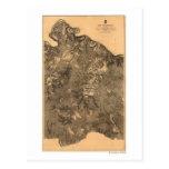 Battle of the Wilderness - Civil War Panoramic Postcard