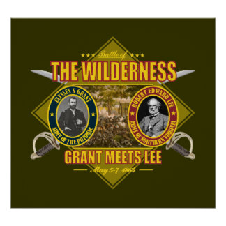 Battle of the Wilderness Poster