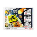 """""""Battle of the Worlds"""" Magnet"""