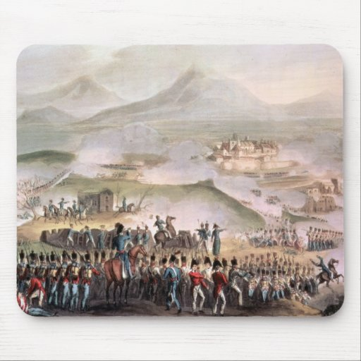 Battle of Toulouse, engraved Thomas Sutherland Mouse Pad