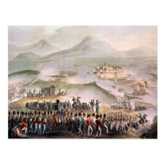 Battle of Toulouse, engraved Thomas Sutherland Postcard