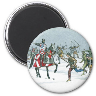Battle of Towton 1461 2 Inch Round Magnet