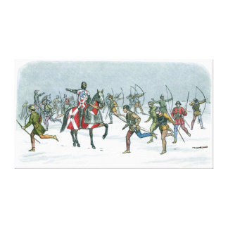 Battle of Towton 1461 Canvas Print