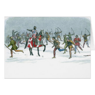 Battle of Towton 1461 Card