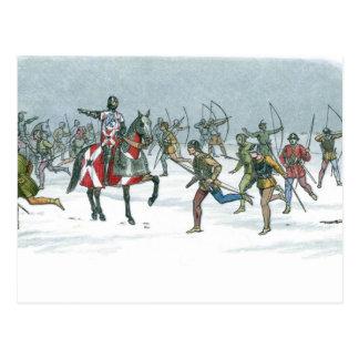 Battle of Towton 1461 Postcard