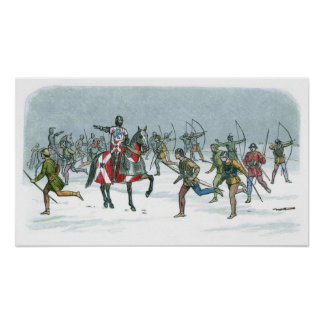 Battle of Towton 1461 Poster