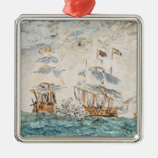 Battle of Trafalgar 1805 1998 Metal Ornament