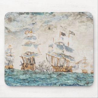 Battle of Trafalgar 1805 1998 Mouse Pad