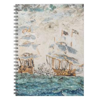 Battle of Trafalgar 1805 1998 Notebook