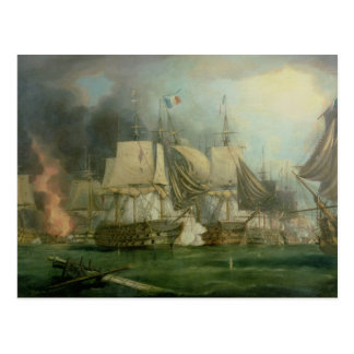 Battle of Trafalgar, 1805 Postcard