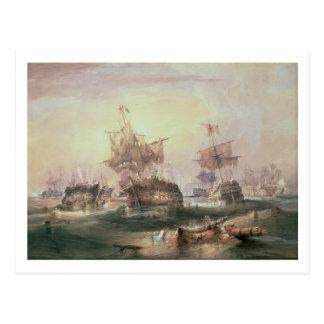 Battle of Trafalgar, 21st October 1805 Postcard