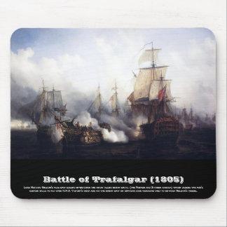Battle of Trafalgar at noontide Mouse Pad