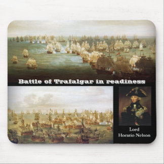 Battle of Trafalgar in readiness (2) Mouse Pad