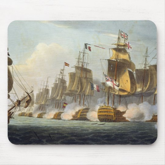 Battle of Trafalgar, October 21st 1805, from 'The Mouse Pad