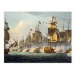 Battle of Trafalgar, October 21st 1805, from 'The Post Cards