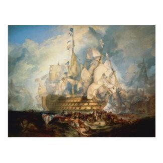 Battle of Trafalgar Postcard