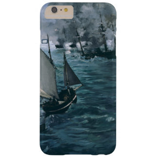 Battle of USS Kearsarge and CSS Alabama by Manet Barely There iPhone 6 Plus Case
