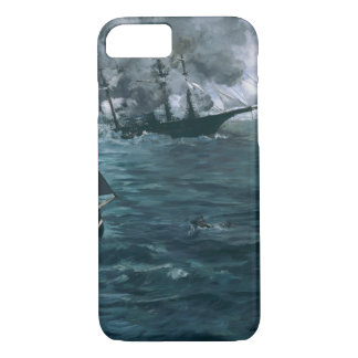 Battle of USS Kearsarge and CSS Alabama by Manet iPhone 8/7 Case