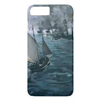 Battle of USS Kearsarge and CSS Alabama by Manet iPhone 8 Plus/7 Plus Case
