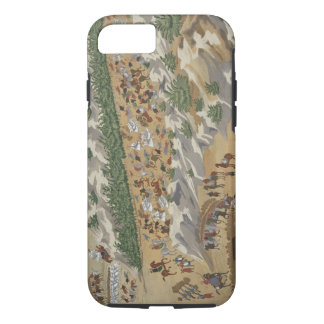Battle of Vasilika in 1821, from the Pictorial His iPhone 8/7 Case