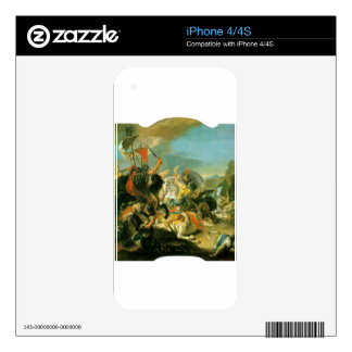 Battle of Vercellae by Giovanni Battista Tiepolo Decal For The iPhone 4S