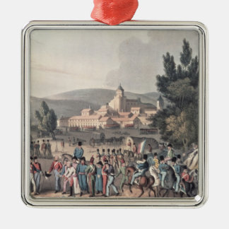 Battle of Vittoria,Bringing in the Prisoners Metal Ornament