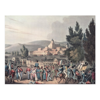 Battle of Vittoria,Bringing in the Prisoners Postcard