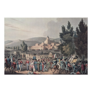 Battle of Vittoria,Bringing in the Prisoners Poster