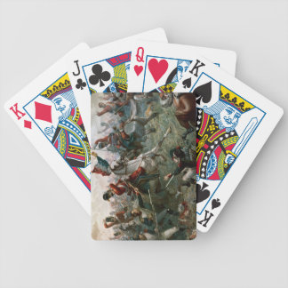 Battle of Waterloo, 18th June 1815, 1898 (colour l Bicycle Playing Cards