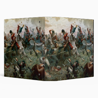 Battle of Waterloo, 18th June 1815, 1898 (colour l Binder