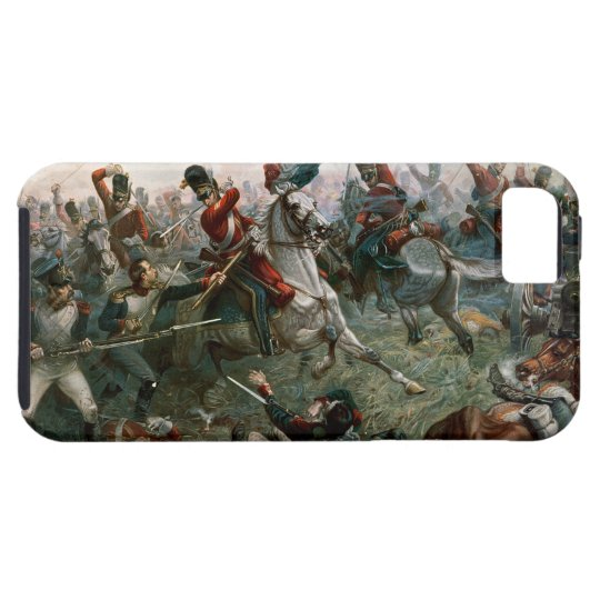 Battle of Waterloo, 18th June 1815, 1898 (colour l iPhone SE/5/5s Case