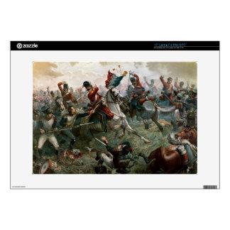 Battle of Waterloo, 18th June 1815, 1898 (colour l Laptop Skin