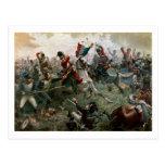 Battle of Waterloo, 18th June 1815, 1898 (colour l Postcard
