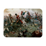 Battle of Waterloo, 18th June 1815, 1898 (colour l Magnet