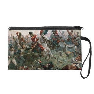 Battle of Waterloo, 18th June 1815, 1898 (colour l Wristlet Clutch