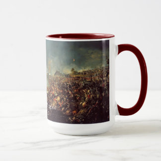 Battle of Waterloo by William Sadler Mug