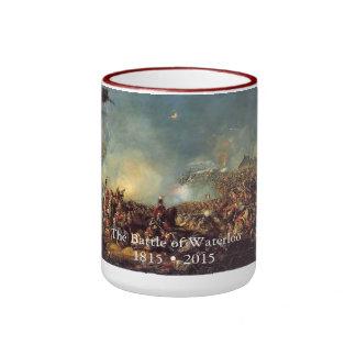 Battle of Waterloo by William Sadler Ringer Mug