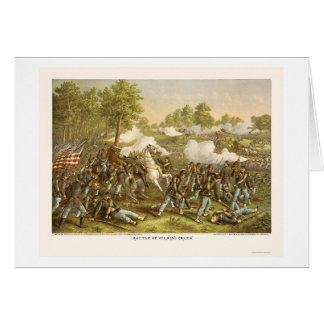 Battle of Wilson's Creek by Kurz and Allison 1861 Card