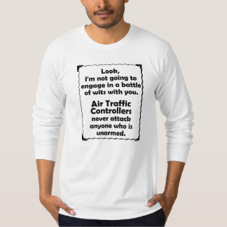 Battle of Wits Air Traffic Controller T-Shirt